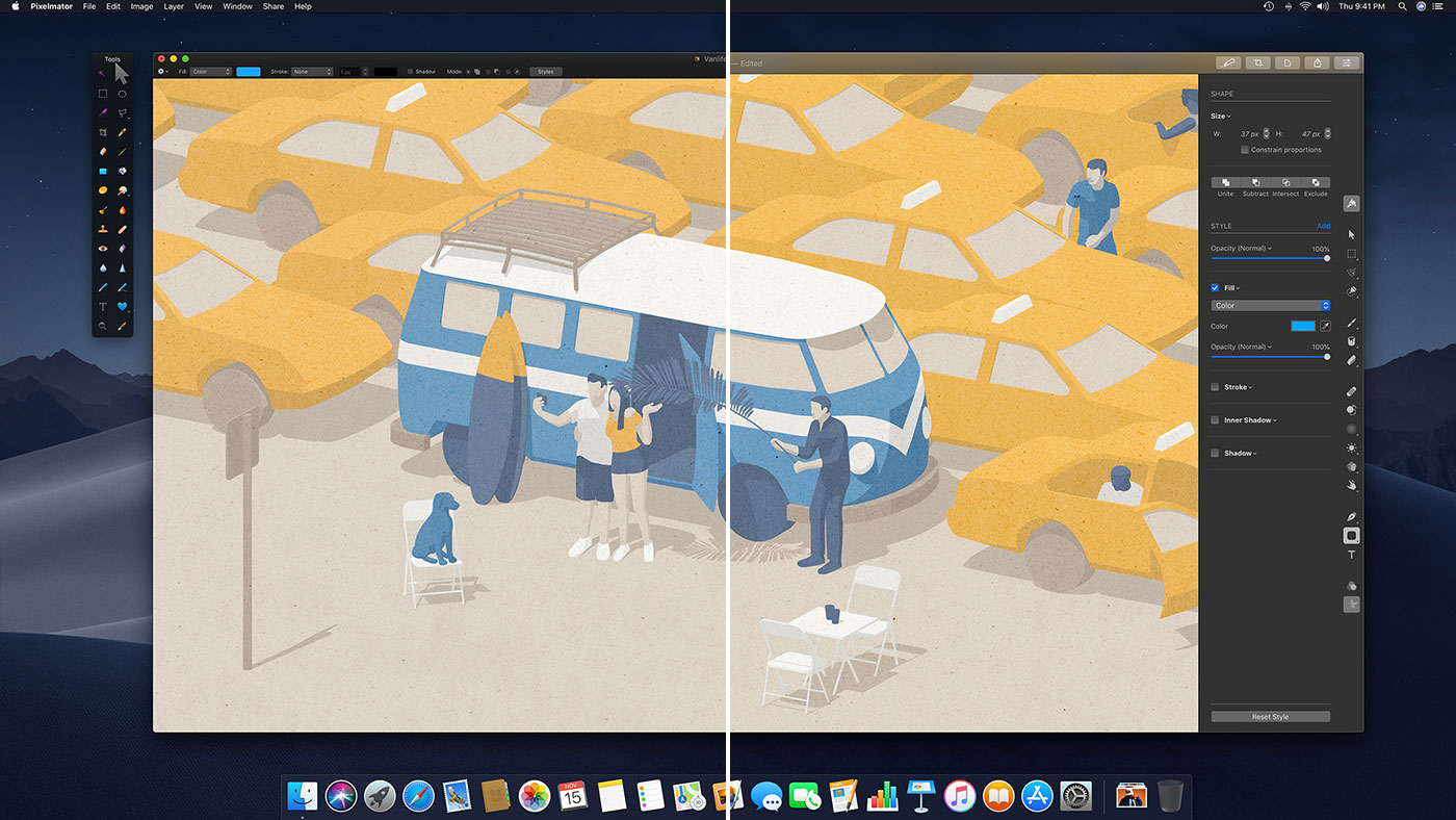 The difference between Pixelmator and Pixelmator Pro